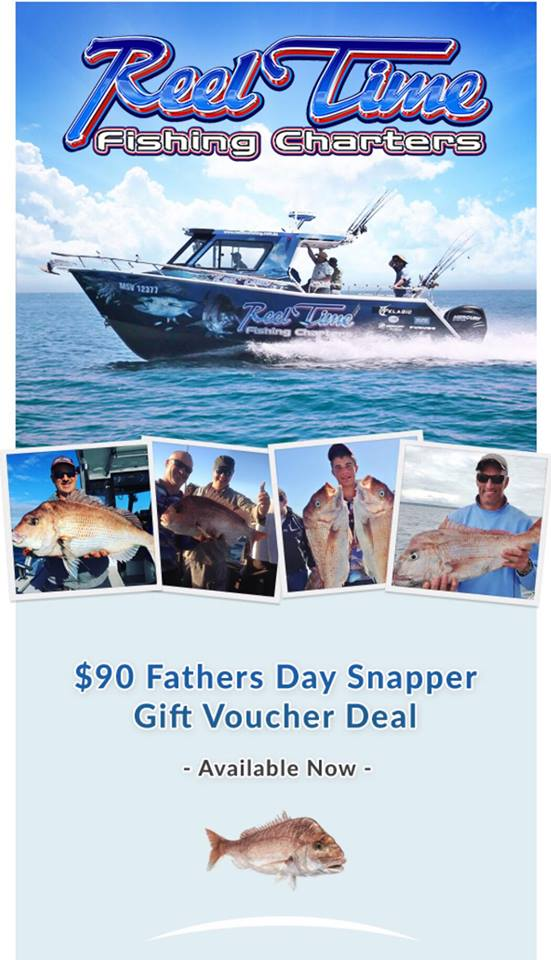 Fathers Day Fishing Charter Gift Voucher
