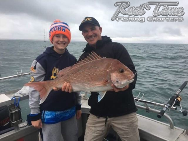 Matt Cini Snapper Fishing Melbourne