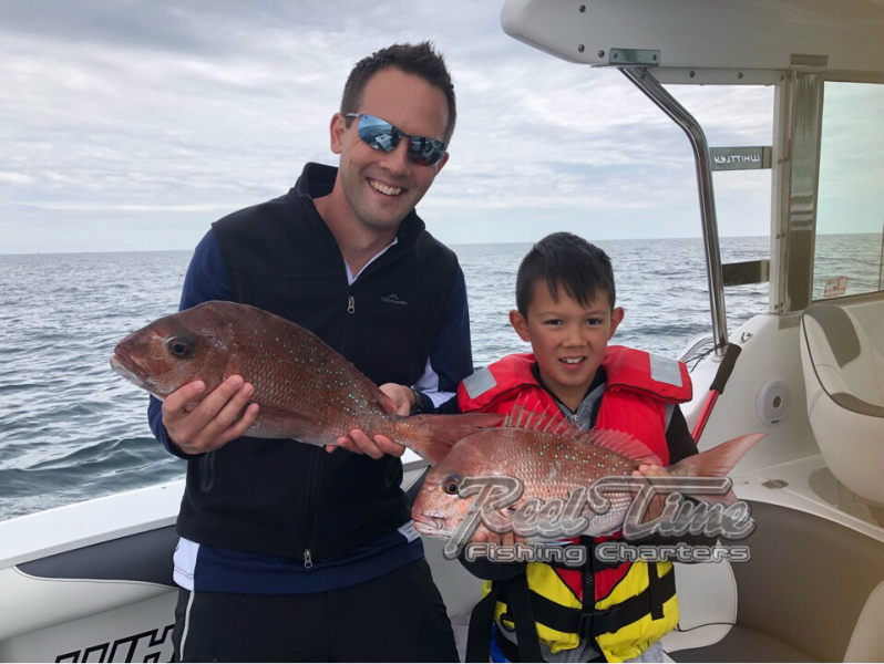 first snapper ever caught by Mark