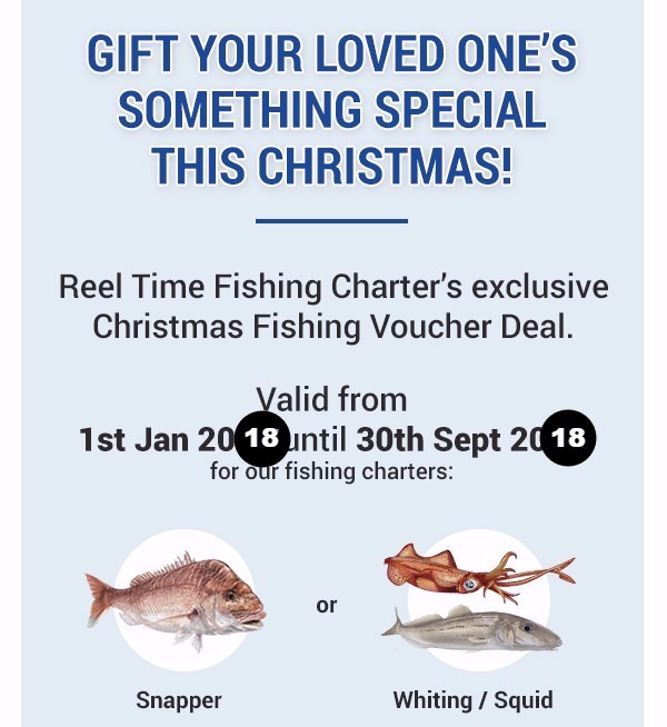 Fishing Charter Christmas Gift Voucher 001
