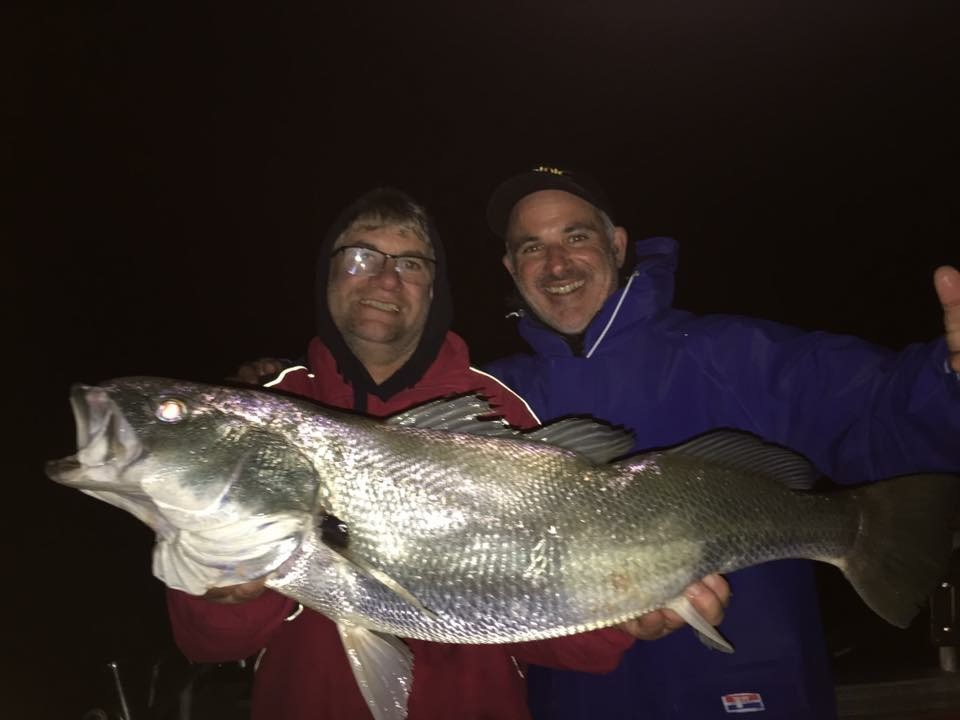 Mulloway in the Glenelg River