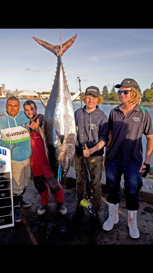 100 plus KG Portland Tuna World class fishing!