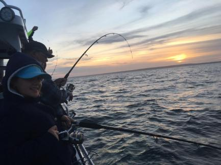 Port Phillip Bay SnaReel Time Fishing Charters Port Phillip Bay Snapper Vic Matt Cinipper