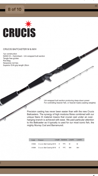 Crusis Rods Range