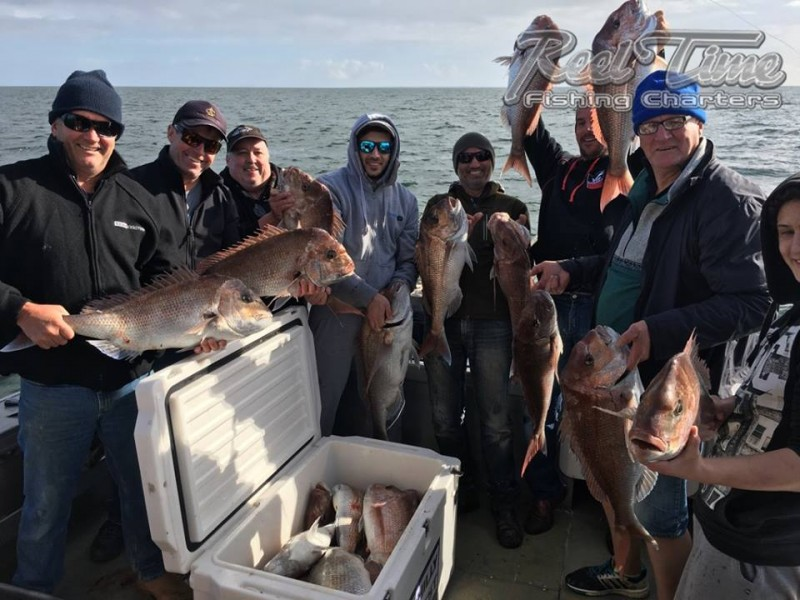 Port Phillip Bay Fishing Charters October 2016 weekend 10th in