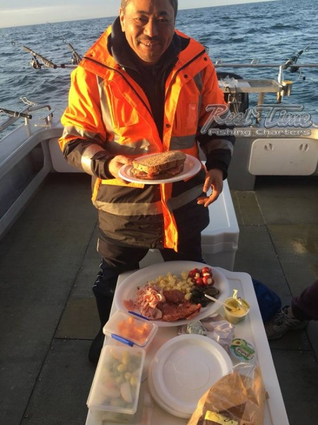 Port Phillip Bay Fishing Charters October 2016 weekend 10th inn