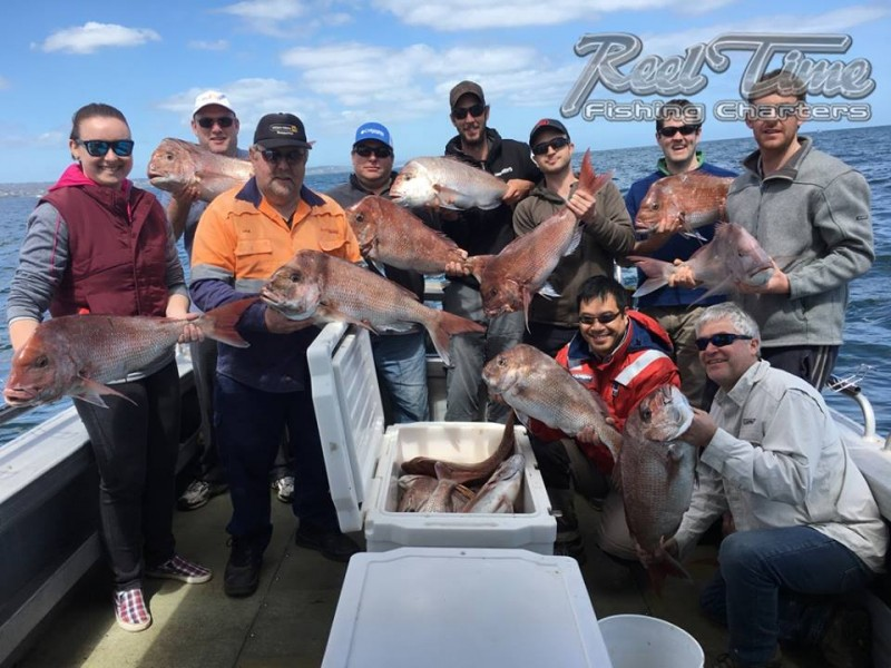 Port Phillip Bay Fishing Charters October 2016 weekend 10th ijj