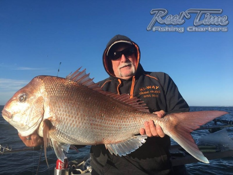 Port Phillip Bay Fishing Charters October 2016 weekend 10th ih