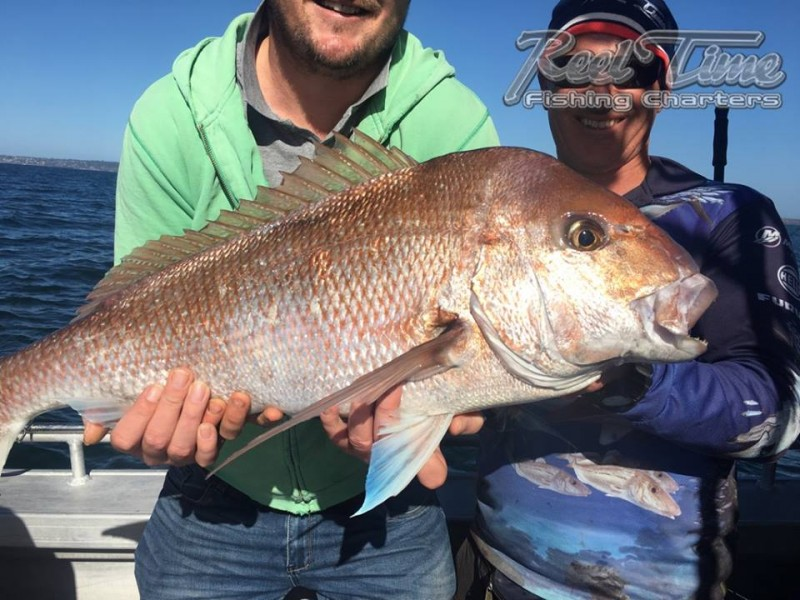 Port Phillip Bay Fishing Charters October 2016 weekend 10th ig