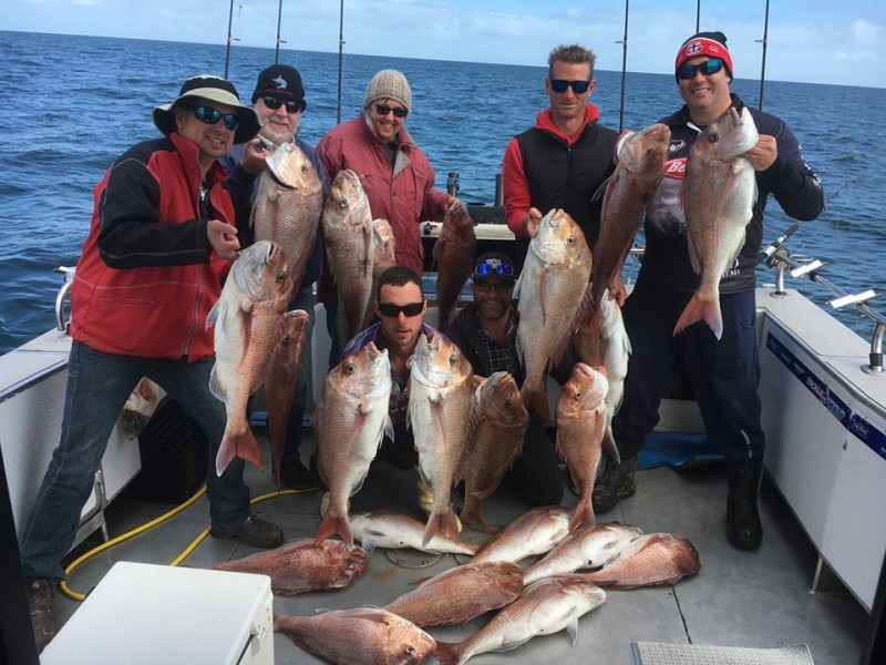 Port Phillip Bay Fishing Charters October 2016 weekend 10th iv