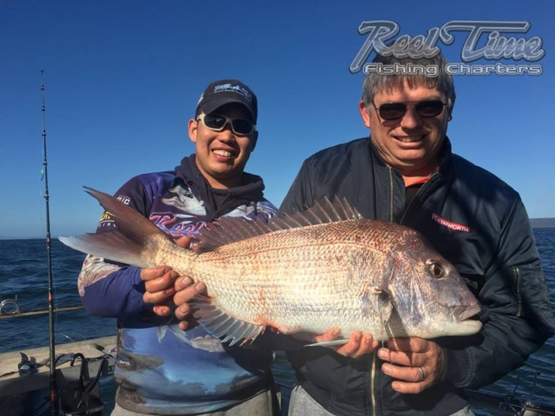 Port Phillip Bay Fishing Charters October 2016 weekend 10th ic