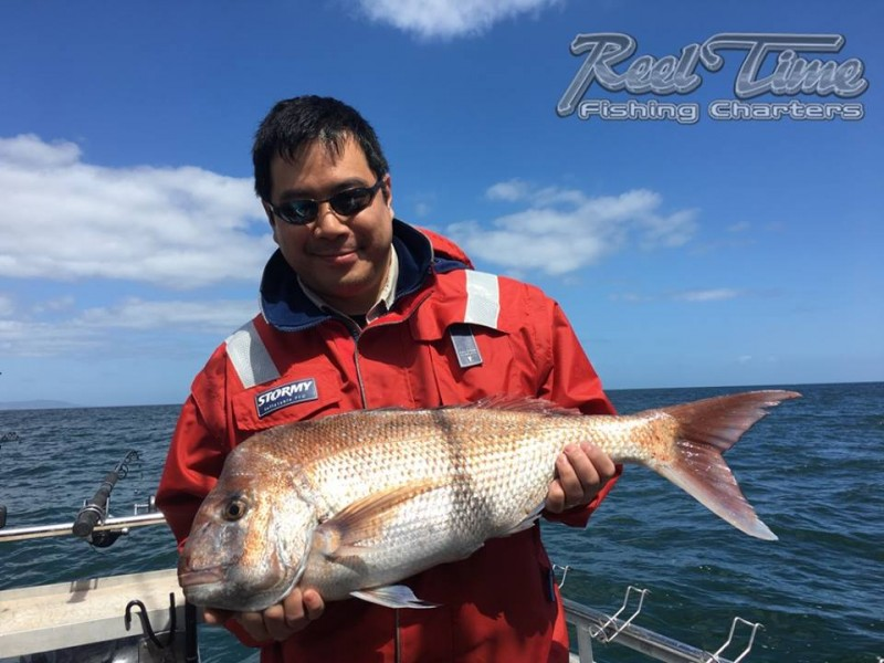 Port Phillip Bay Fishing Charters October 2016 weekend 10th ir