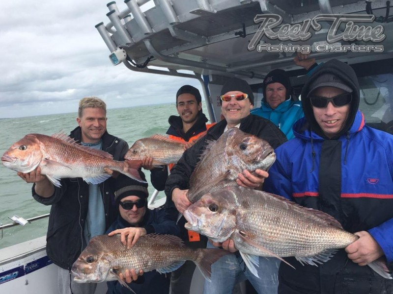 Snapper Fishing Charters Port Phillip bay Melbourne