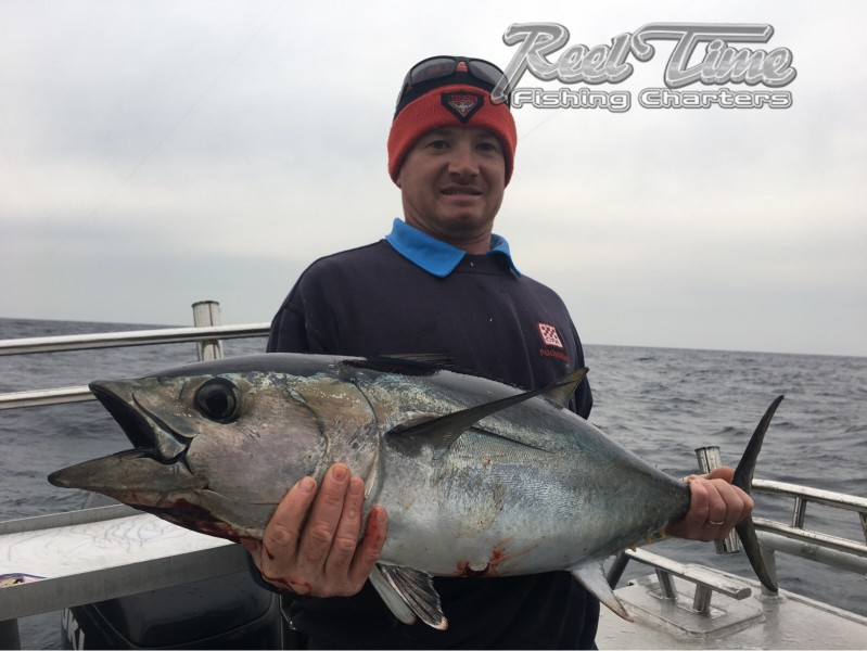 Tuna in Portland Victoria with Reel Time Fishing Charters