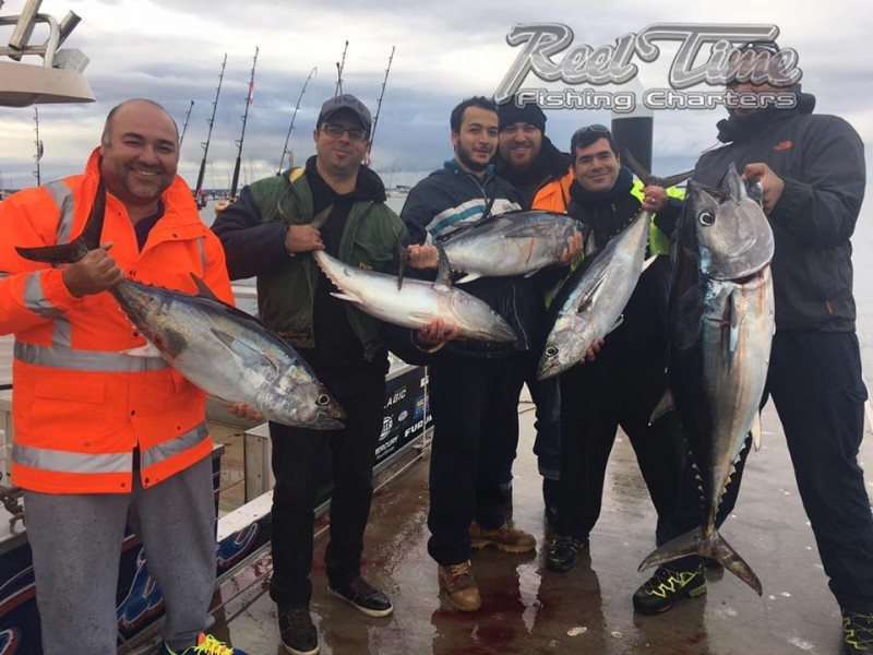 Portland Tuna Fishing Charters 2017