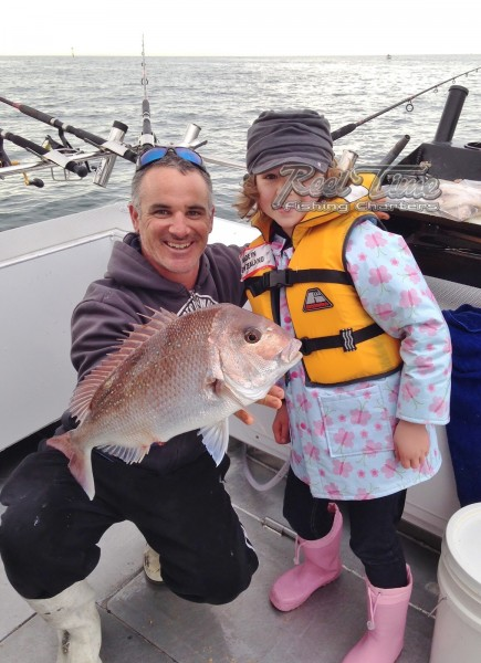 Snapper Fishing Charters October 2013 Port Phillip Bay