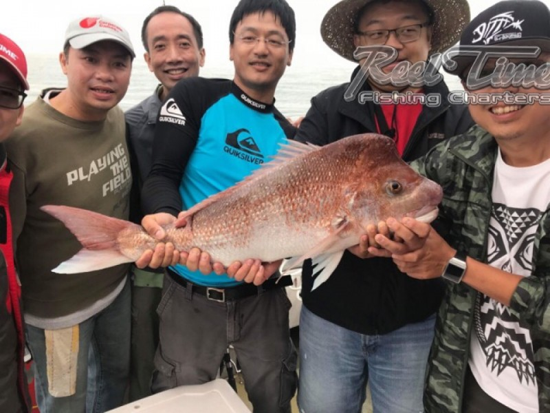 Snapper Fishing in Melbourne