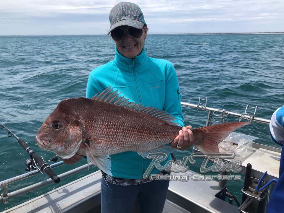 Fishing for snapper in Victoria 2018