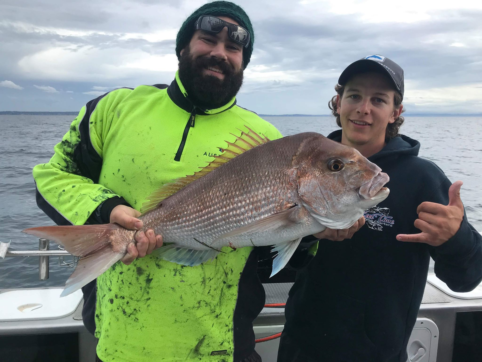 Melbourne Snapper Fishing with Matt Cini & Team 2020