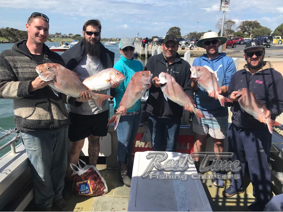 Snapper Fishing Charters Port Phillip Bay October 2018