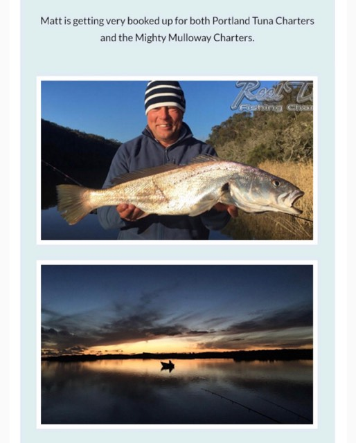 Fishing Charters for Jew Fish Glenelg River with Matt Cini