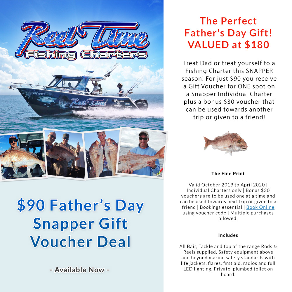 Fathers Day Gift Fishing Voucher deal
